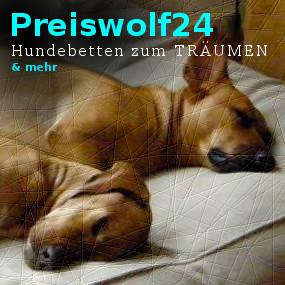 Preiswolf24.de Hundebetten zum TRÄUMEN
