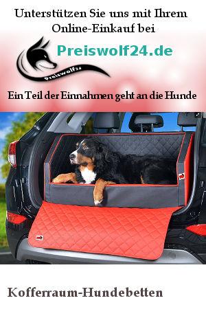 Kofferraum-Hundebetten Autohundebetten